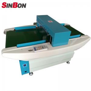 Buy cheap Conveyor broken needle metal detectors for textile garment industry product