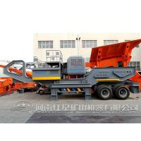 Buy cheap Price for tire movable coal impact mobile stone crusher product