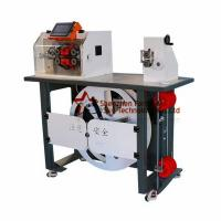 Quality Automatic English System Wave Peak Cut-Open Corrugated Pipe Cutting Feeding Rack for sale