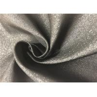 Buy cheap Black Fiber PVC Backed Polyester Fabric Durable Resistant To Bleach / Oxidants product