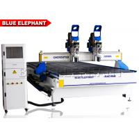 China 2055 multi-heads woodwork cnc router , cnc wood carve machine for wood door design on sale