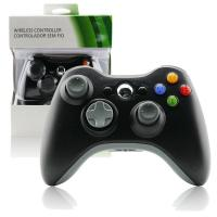 Buy cheap Plastic Xbox 360 Wireless Controller Black, Gamepad Controller For Xbox 360 product