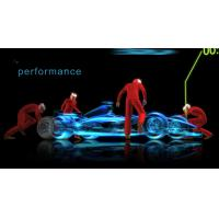 Buy cheap Pepper Ghost Projection Hologram Foil 3D Transparent Holographic Foil product