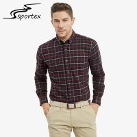 Buy cheap 100% Cotton Flannel Male Formal Shirts Sleeve Length 65.5cm - 68.5cm product