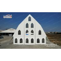 Buy cheap Large Waterproof White Aluminum Outdoor Event Tent Guangzhou Facotry With Church Window from Wholesalers