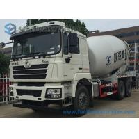 Buy cheap White Concrete Mixing Transport Truck 8 Cubic Meter SHACKMAN 6X4 Truck product