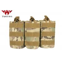 Buy cheap Military Molle Gear Accessories Compatible Open Top Triple Mag Pouch For M4 M17 AK47 Magazine product