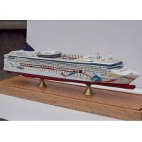 China Norwegian Dawn Cruise Ship 3d Model Ivory White Color , Carbon Fibre Hull Material on sale