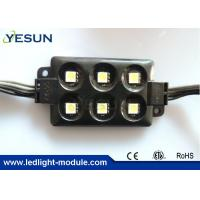 China High Lumen 5050 SMD 6 LED Module 12V for Led Lightings Advertising Panel CE / ROHS on sale