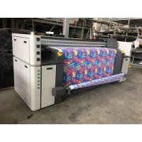 Buy cheap Large Format Inkjet Textile Printing Machine High Resolution With Automatic Feeding System product