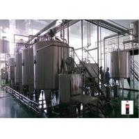 Buy cheap Light Pasteurized Milk Processing Line , Small Scale Juice Production Line product