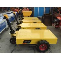 China Convenient Electric Trolley Pallet With Battery , Mobile Construction Tool Trolley on sale