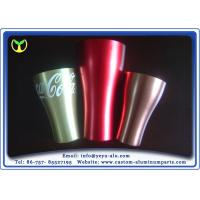 Buy cheap Recycle Anodized Aluminum Extrusions 6000 Grade Alloy Cup For Coca Cola from Wholesalers