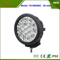Buy cheap 7 inch IP67 high lumens 90w led driving light Spot light lamp for offroad jeep,4x4 tractor product