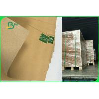Buy cheap 110gsm To 220gsm Recycled Brown Kraft Liner Paper Board Sheet FDA EU FSC product