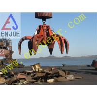 New Electric Hydraulic Orange-Peel Grab for Barge Bulk Material Handling for Rock
