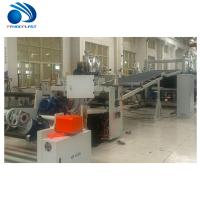 Buy cheap Energy Saving TPE Sheet Extrusion Line With Spiral Feeding 200~380kg/H product