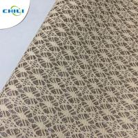 China Artifical Shinning Synthetic Fabric With Glitter Leather For Shoes on sale