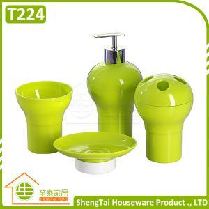 China Multi Use Special New Design Bottle Gourd Shape Complete Bathroom Set on sale