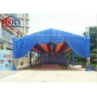 Buy cheap Decorative Aluminium Light Truss , Black Silver Square Moving Head Truss product
