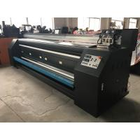 Digital Printing Fabric Plotter Signs Two Epson DX5 Heads For Clothing Make