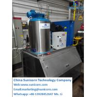 China Flack Ice Maker, Ice Machine, Commercial Ice Maker 500kg,Flack ice machine, for fish and meat storage on sale