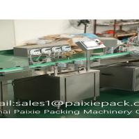 Buy cheap High Automation Bottle Filling Line 20 - 750ml With Sealing Accuracy ±1% from Wholesalers