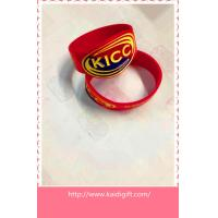 Buy cheap KICC silicone wristband bracelet product