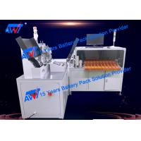 Buy cheap AWT Battery Sorting Machine 10 Grades 18650 Insulation Paper Sticking Machine product