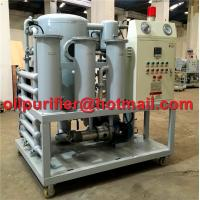 Buy cheap transformer oil filtration plant manufacturers, China Vacuum Oil Purifier, oil cleaner, insulation oil recycling system product