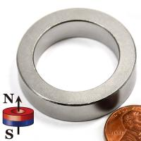 Buy cheap Kellin Neodymium Magnet Ring Axially Magnetized Rare Earth Disc Magnetic Ring with NiCuNi Plated product
