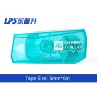 Buy cheap Green / Blue / Red Mini Correction Tape In Blister Card 5mm * 6m product