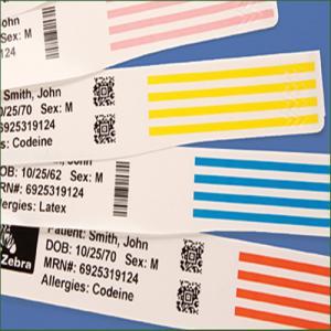 China Medical Alert Bracelets/Patient ID Band/ Medical ID Bracelets on sale