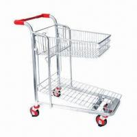 Buy cheap Warehouse Cart/Trolley, Suitable for Heavy Duty Material Handling, Chrome-plated product