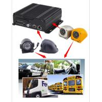 Buy cheap 4CH 720P AHD Input Mobile Vehicle DVR Support 4 / 3G WIFI GPS Funtion , Dual SD Card product