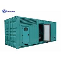 Silent 1500kVA Cummins Diesel Generator Water Cooled For Military