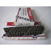 Buy cheap Single Roller Chain 12B-1-5FT 80Links 1.85KG 40MN Material , Duplex Roller Chain product