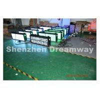 Buy cheap Taxi LED Display P 5 SMD, Video Taxi Top LED Display with Customized Design product