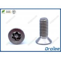 Buy cheap Stainless Steel Flat Head Torx Security Screws product