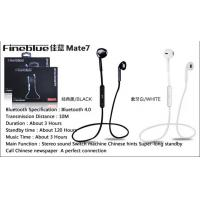 Buy cheap CSR 4.0 Wireless Music Stereo Bluetooth Headset / Earphones with microphone product