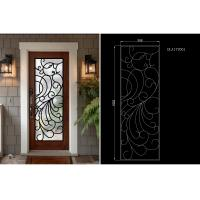Buy cheap Modern Technology 2264 Inch Wrought Iron Glass Instant Iconic Stain Grade Jamb product