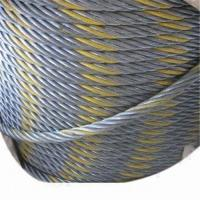 Bright Steel Wire Rope with Wooden Spool