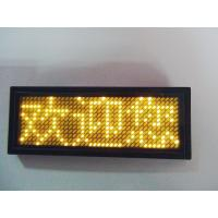 Buy cheap LANPAI  Factory price Programmable LED scrolling message Badge product