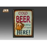 Buy cheap Beer Wall Plaques Home Decorations Decorative Wall Art Signs MDF Pub Wall Decor product