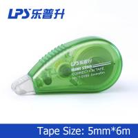 Buy cheap Green Mini Correction Tape , PET Colored Eco Friendly Staples Correction Tape product