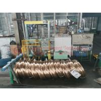 Buy cheap High Speed Steel Wire Coil Packing Machine / Powerful Ring Wrapping Machine product