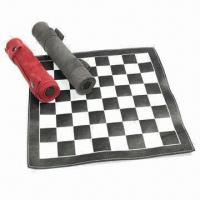 Buy cheap Portable Backgammon Chess Table Set with 30 Dices product