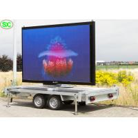 China Mobile Advertising Vehicle Led Display Electronic Billboards Outdoor P3.91 3840hz on sale