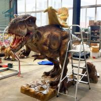 Buy cheap Other Amusement Park Products Animatronic Dinosaur Rides T rex product