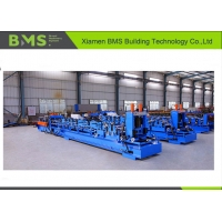 Buy cheap Auto Change Type C75-300 Purlin Machine With 5 Ton Hydraulic Decoiler from wholesalers
